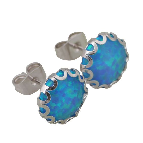 Find More Stud Earrings Information about Party Jewelry silver jewelry Sea blue color Black Opal stud Earrings women Fashion Jewelry DANA E283,High Quality jewelry yarn,China jewelry africa Suppliers, Cheap jewelry box with key lock from Dana Jewelry Co., Ltd. on Aliexpress.com