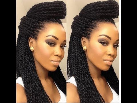 Braids Packing Styles Super Cute Ways To Style Senegalese Twist Hairstyles Twist Hairstyles African Braids Hairstyles