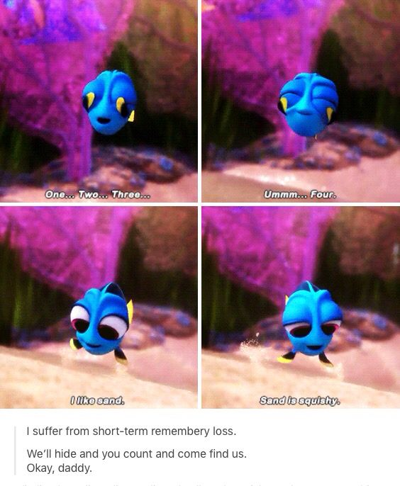 Finding Dory From Disney Pixar comes the sequel that will make you cry harder than you thought you would. We love you Dory! Just keep swimming!!!