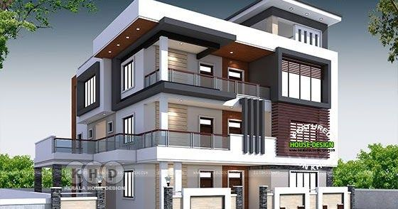 Luxury North India House Plan In Modern Style Modern House Exterior Amazing Architecture Architecture Magazines