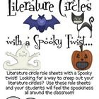 An Spooky/Creepy inspired Literature Circles packet that can be used throughout the school year (October especially), or can be used for one book (... $