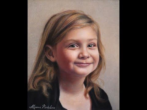 Colored Pencil Painting Portraits By Alyona Nickelsen Rendering Jordan Portrait Portrait Painting Pencil Painting