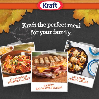 Cooking Up Good with Kraft   Some Coupons!
