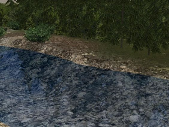 Kinematisch animierte Splines, Fluss-Set 1. Ab #EEP12 http://bit.ly/Kinematisch-animierte-Splines-Fluss-Set1