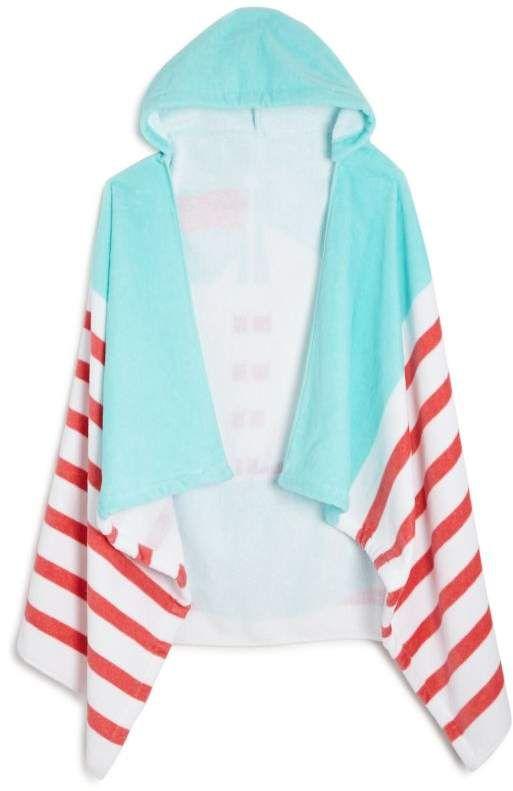 Caro Home Sailing Kids Hooded Beach Towel Beach Towel Towel Hoods