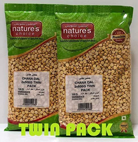 طبائع اختيار العدس شانا دال 500 غرام حزمة من 2 Natures Choice Lentils Chana Dal 500 Gms Pack Of 2 تشحن بوا Food Packaging Design Lentils Food Packaging