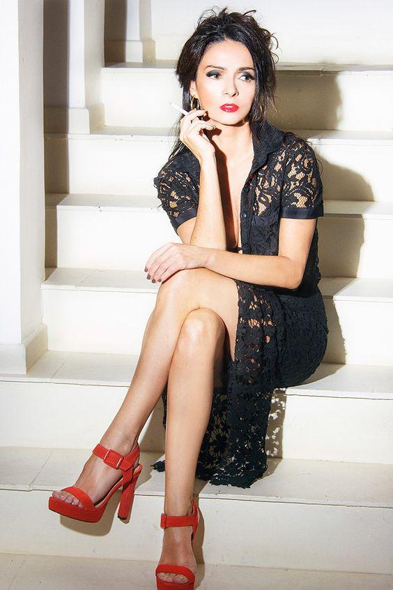 atriz claudia ohana vestida com figurino do filme malena (Foto: alex falcao) ******exclusivo monica bergamo*******