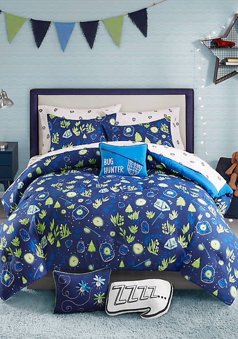 Lightning Bug Marshall Bedding Collection Comforter Sets