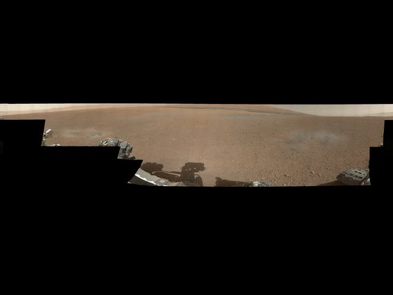 NASA - Gale Crater Vista, in Glorious Color