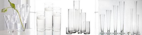 wazony szklane cylindry