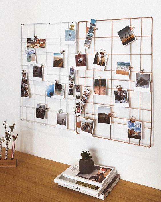 Fotogitter - rechteckig, Metall, versch. Farben, #decorativehangerclothing #Farben #Fotogitter #Metall #rechteckig #versch