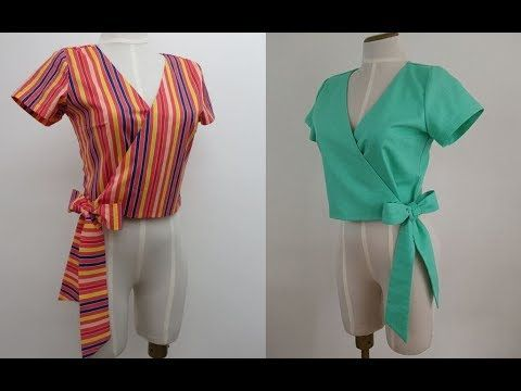 blusa cruzada de media manga para bodas | Blusas femininas