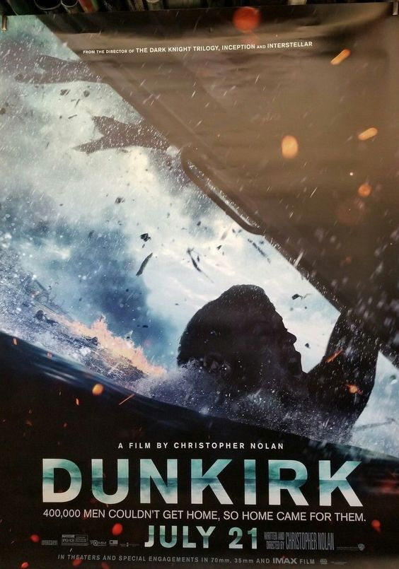 Harry featured on a new Dunkirk poster!