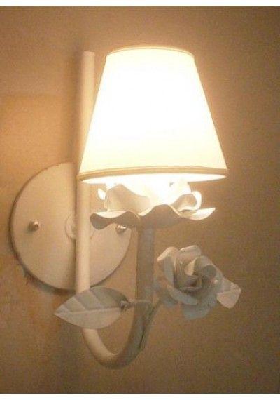 Arandela lilie 1 lâmpada  ( lustre de parede)