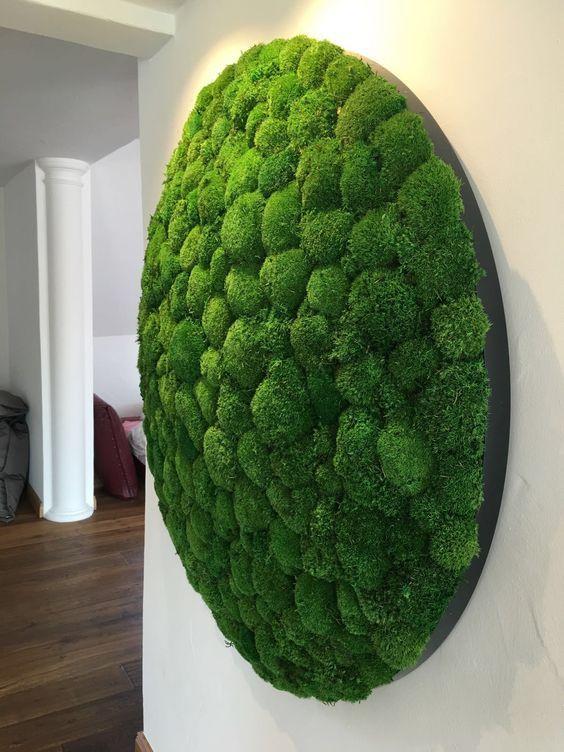 25 Edgy And Trendy Moss Home Decor Ideas Moss Decor Moss Garden