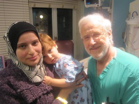 Dr. John Gazak does overseas charity work for less fortunate children--what a guy!