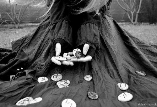 Casting the runes...