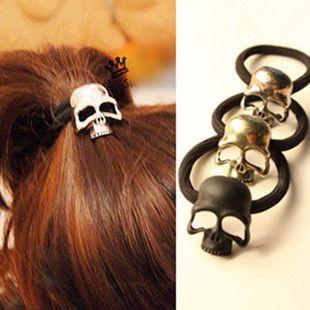 Barato Forma do crânio do cabelo banda jóias grampo de cabelo. Frete grátis, Compro Qualidade Jóias para cabelo diretamente de fornecedores da China:     Vamos fazer uma transação feliz! Por favor, olhe nossa foto!                                           1
