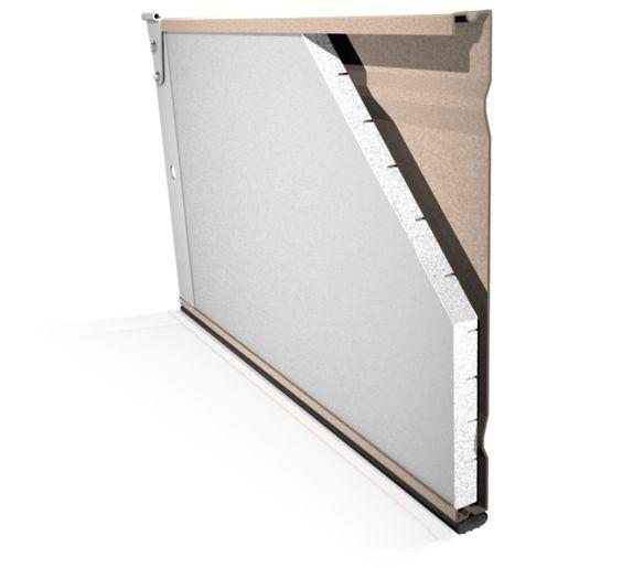 Garage door insulation doors and on