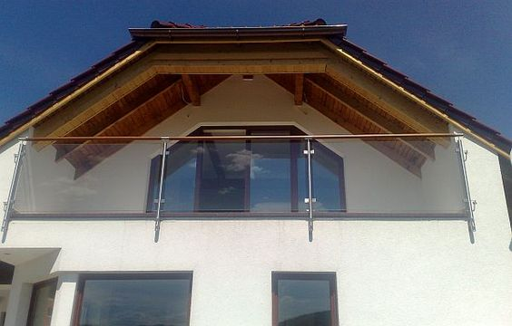 Balkon szklany