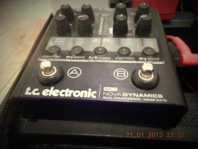 TC Electronic | Nova Dynamics | Pedal board