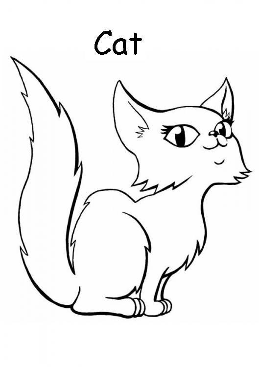 Mi Cuadernillo De Ingles Animales Domesticos Para Colorear In 2020 Cat Coloring Page Animal Drawings Cute Drawings