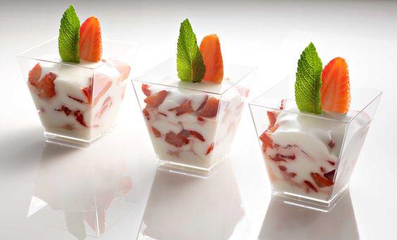 Joghurt- Erdbeer- Tiramisu
