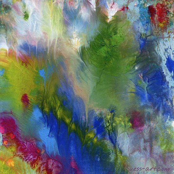 RT @Vess_Art: Summer Impressions I. Medium: oil paints on wood board. #summer #vessart #abstractpainting #impressionism https://t.co/YCUPalTBuv