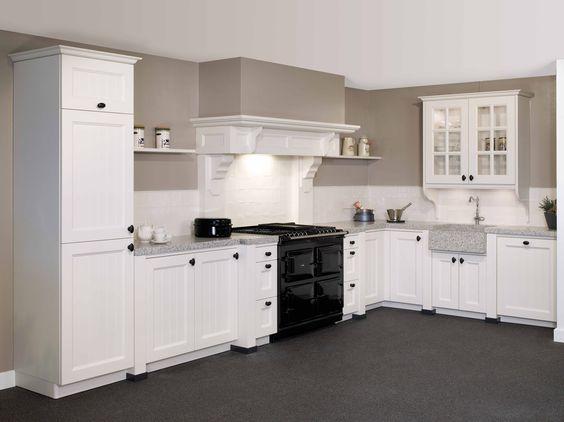 Tristar keuken type 39 keulen 39 in de kleur 39 oud wit 39 dit model is verkrijgbaar bij keukencentrum - Kleur voor de keuken ...