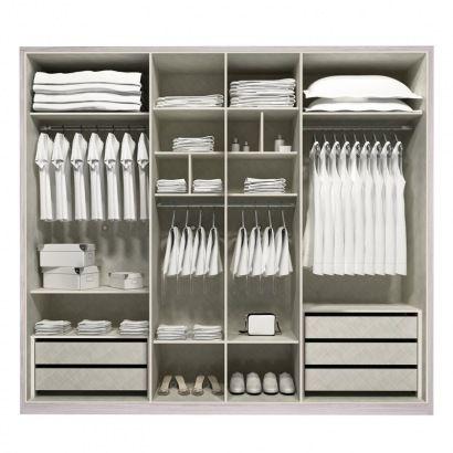Divisão interna guarda-roupa | Divisão interna | Pinterest