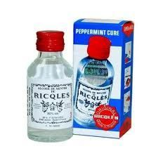 France Ricqles Peppermint Cure Medicated Oil