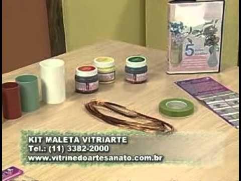 ARTE BRASIL -- JUNKO MIAZATO -- FLOR DE RESINA (17/01/2011 - Parte 2 de 2)