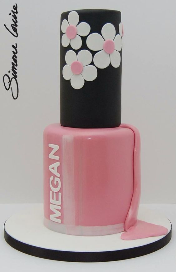Nail Polish Cake Nail Polishes And Lipsticks On Pinterest