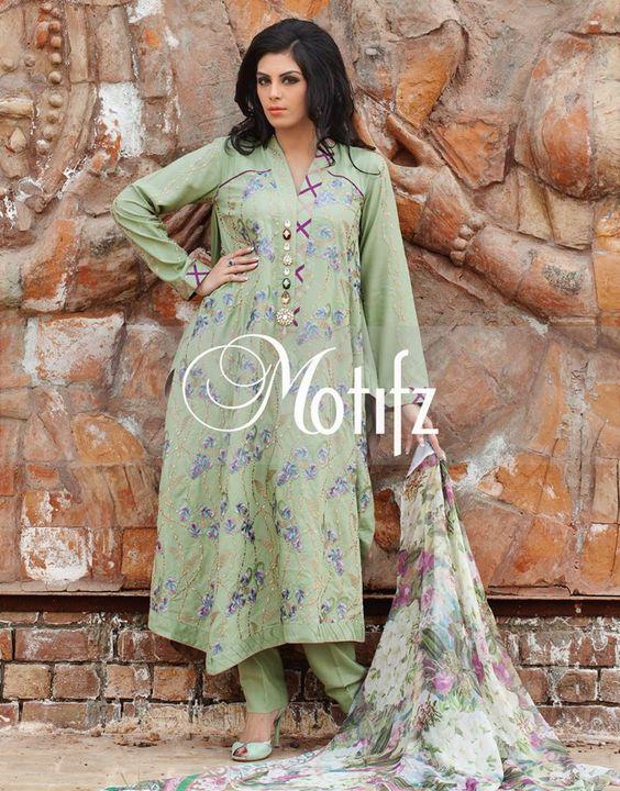 Latest Women Motifz Dresses Collection 2014 1 Latest Women Motifz Dresses Collection 2014