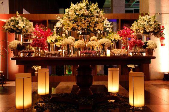 Decoração da mesa dos doces ❤ feito por http://www.villabisutti.com.br/