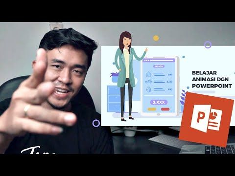 Cara Membuat Animasi Di Powerpoint Mudah Dan Cepat Bonus Youtube Animasi Youtube Kupon
