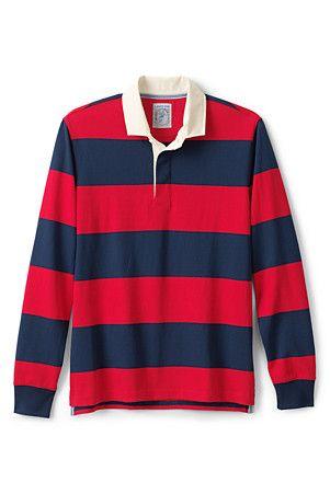 Langarm Polo Mit Rugby Streifen Fur Herren Classic Fit Mens Rugby Shirts Rugby Shirt Shirts