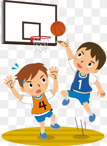 Hand Drawn Cartoon Teenager Playing Basketball Childrens Day Motion Play Basketball Jump Cute Cartoon Childrens Day Png And Vector With Transparent Backgroun Dibujos Nino Corriendo Ninos