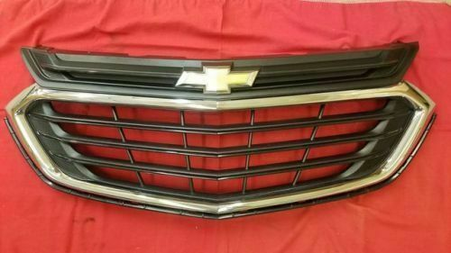 2018 2019 Chevrolet Equinox Grille Oem 84150736 Black And Chrome