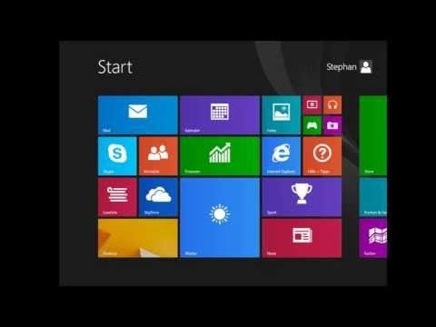 Microsoft Windows 8.1 - Teil 2 - Anpassung und Kontoeinrichtung - (Hilfe, Tutorial, deutsch, HD) - YouTube