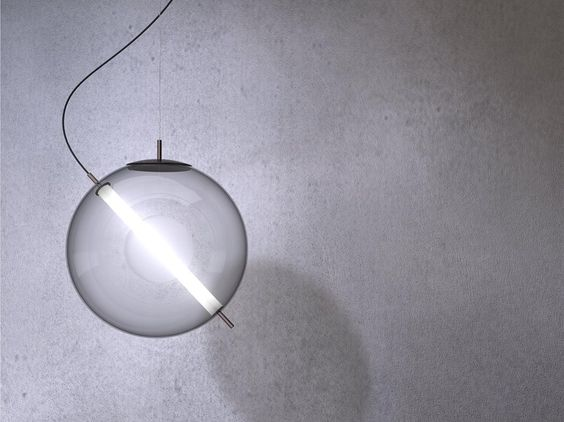 Glass pendant lamp TERRAZZA MARTINI by 929MILANO by Rossini Illuminazione design…