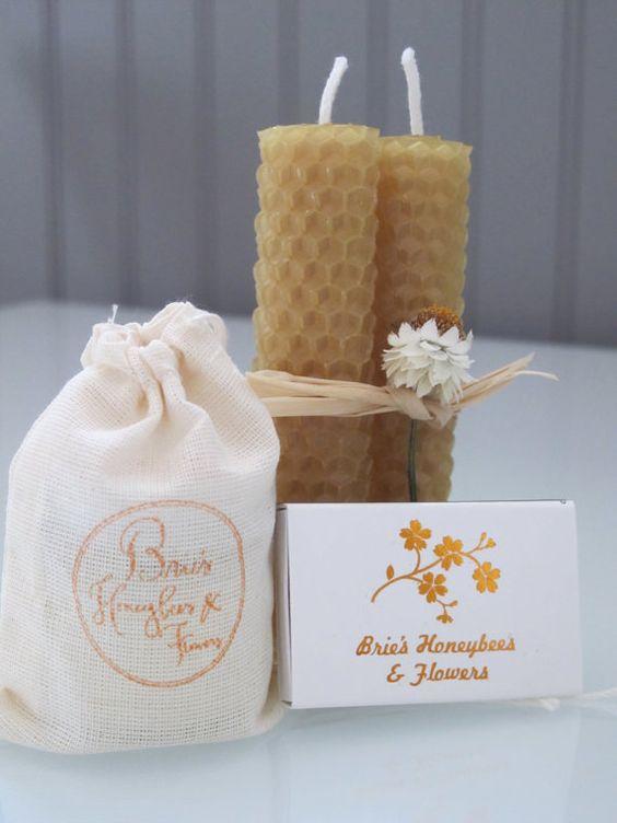 Jar Candle Gift Set- Cool Citrus Basil on Etsy, $11.00