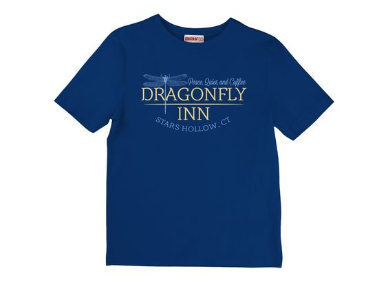 Dragonfly Inn T-Shirt by SnorgTees. Men's and women's sizes available. Check out our full catalog for tons of funny t-shirts.: