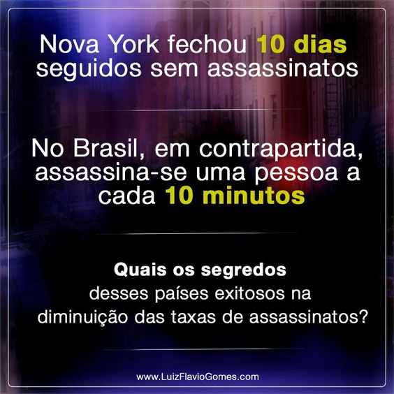 Nova York fechou 10 dias seguidos sem assassinatos