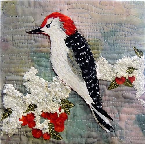 "Kit Lang, ""Red Bellied Woodpecker"""