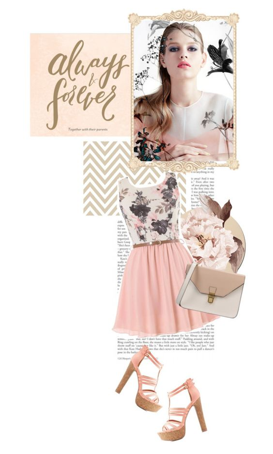 """""""always and forever"""" by hermionesclone ❤ liked on Polyvore featuring Charlotte Russe and 8"""