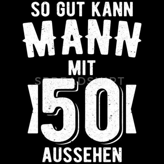 50 Geburtstag Geschenk Manner Premium T Shirt Schwarz