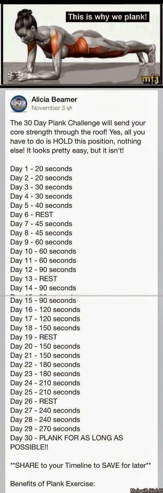 30 day weightloss challenge plan