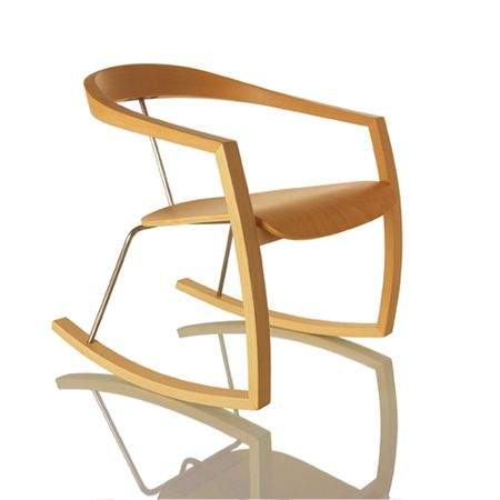 Ro-Ro rocking chair by Tomoko Azumi.