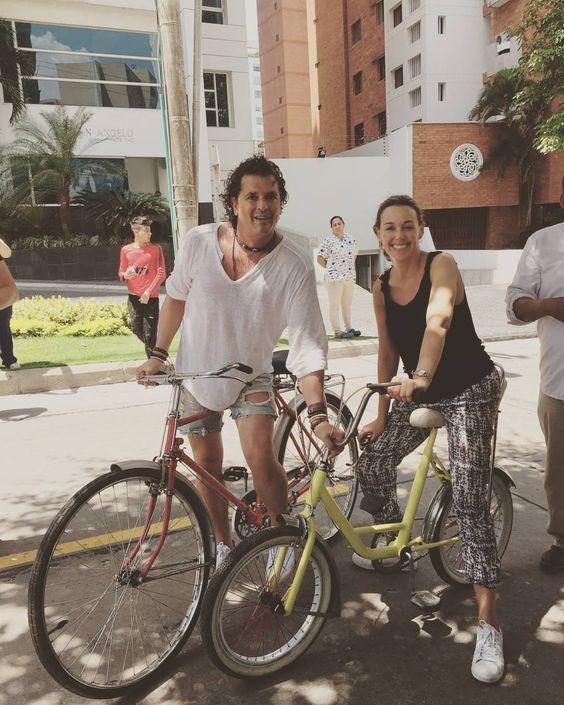 Toda la semana en modo #LaBicicleta #Barranquilla #SantaMarta @shakira @carlosvives  by claudiaelenaoficial